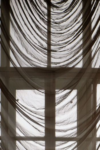 No People Architecture Pattern Textile Built Structure Indoors  Full Frame Day Low Angle View Close-up Curtain Backgrounds Nature Window Ceiling Building Sunlight Shape Architectural Column The Minimalist - 2019 EyeEm Awards