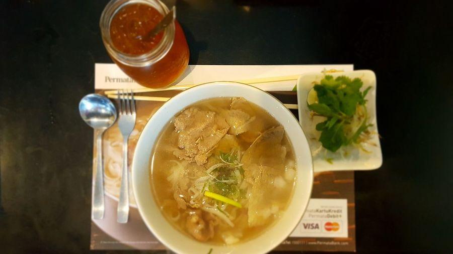 Vietnamese Food Vietnamese Noodlesoup Meat Chops Soup Bowl Foodporn Food And Drink Noodle Porn Foodie