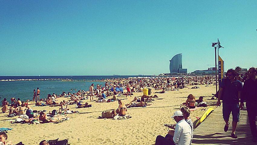 Barcelona Barcelonagram Barcelona Sea