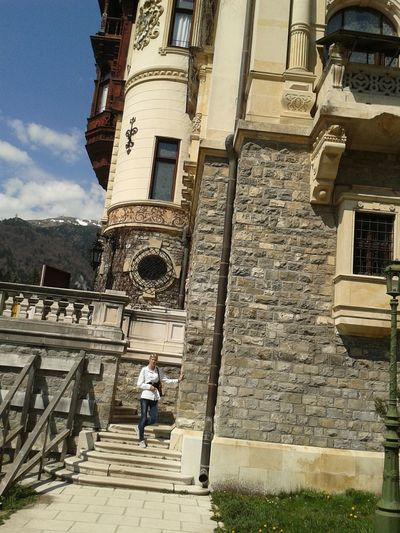 my at Sinaia Castelul Peleș Peles Castle Pelescastle Springtime Mountain Location Roumania Roumania 2014 Beautiful. :*