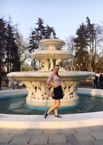 Women Beautiful Woman 😍😌😊 Loveis Beautiful Nature Pretty Girl Beauty Russia Beautiful Long Hair Blond Hair Moscow Popular Photos Popular Hello World Gorky Park ❤❤❤ Fountain Happiness Water Nature