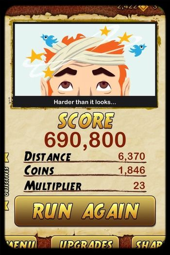 Playin Temple Run2