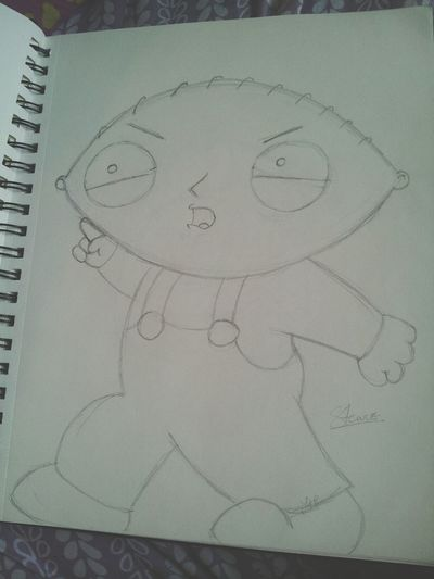 Drawing Quickone Familyguy Stewie