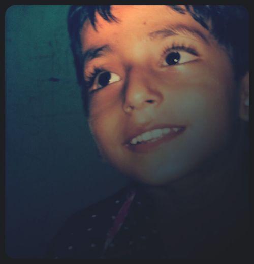 my cute little nephew .