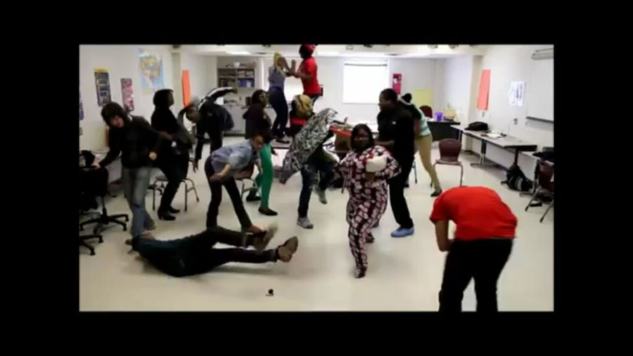 Hillside NewTech doing the Harlem shake