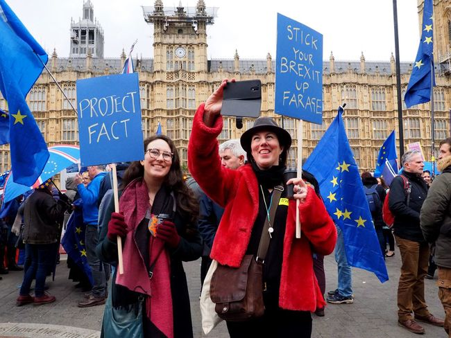 Brexit Parliament Vote protests 15/01/2019 Houses of Parliament and Whitehall remain and leave protests as Parliaments votes on Brexit plan A. Stevesevilempire Steve Merrick Parliament Vote Brexit Protest London News Remainers Olympus OM-D LONDON❤ Brexit Parliament Vote Another Bloody Brexit Protest Parliament Politics And Government British Politics Leavers Architecture Women Building Exterior Communication City Men Adult