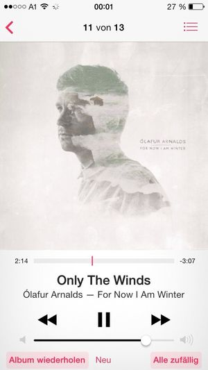 Last Song Of The Day Listening To Music Olafur Arnalds