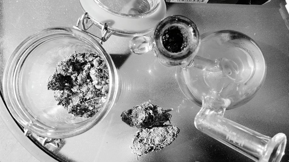 Jar Glass Black And White 420 Photography Ganja WeedPorn Marijuana Marijuana Photography Weed Herb Blackandwhite Monochrome Photography Monochrome Blackandwhite Photography Black And White Photography