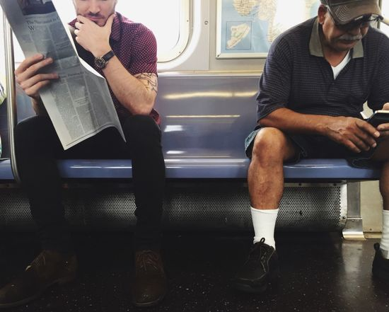 Strangers In Transit Whileinbetween Subway Candid Strangers Public Transportation Bushwick Brooklyn