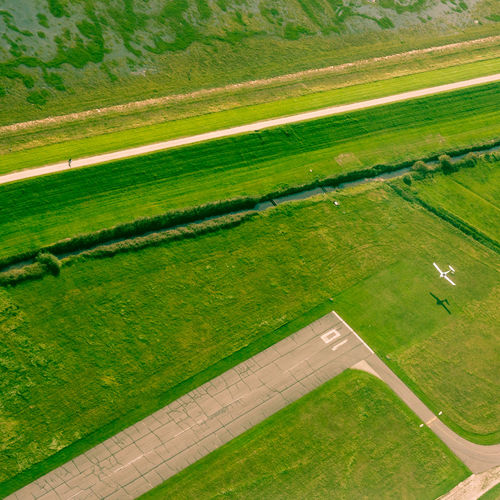 Aerial Photography Aerial Shot Aerial View Airplane Approaching Beauty In Nature Day Field Filters Flying Grass Green Color High Angle View Landscape Nature Outdoors Runway Scenics Square Format Wangerooge