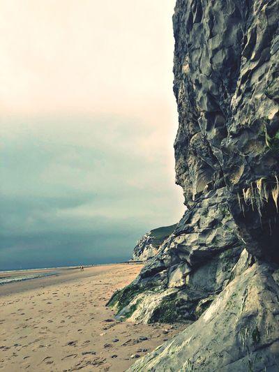 Rocks at cap