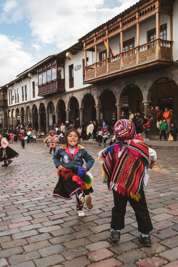 Peruvian children dancing and smiling Andes Children Cusco Dance Dancing Dancing Around The World Happiness Kids Kids Being Kids Peru Travel Travel Photography Child Children Photography Folklore Full Length Group Of People Huayno Kids Having Fun People Peruvian Real People Smiling South America Travel Destinations This Is Strength This Is Natural Beauty
