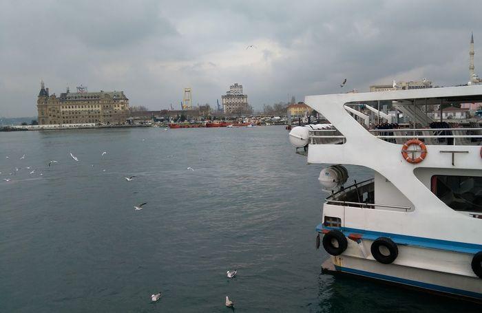 Water Cityscape Kadıköy İskele Haydarpaşa Garı
