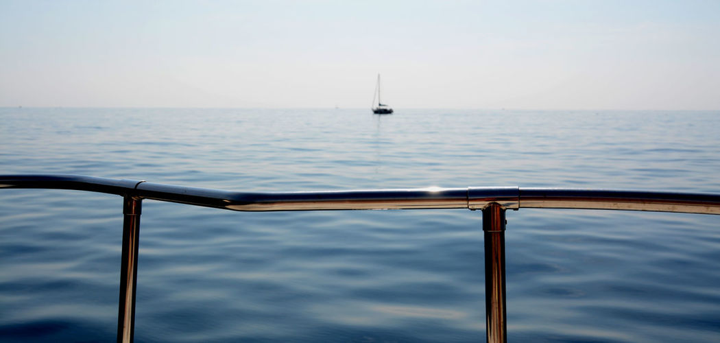 Horizon Over Water Nature Nautical Vessel Sailboat Sailing Sailing Ship Sea Water Yacht Yachting