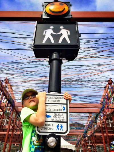"""Stranger Reduction Zone"" by Timothy Flood at Canal Convergence in Scottsdale, AZ. Looks like it works! Eyeem Phoenix Meetup2 Scottsdale Public Art My Son"