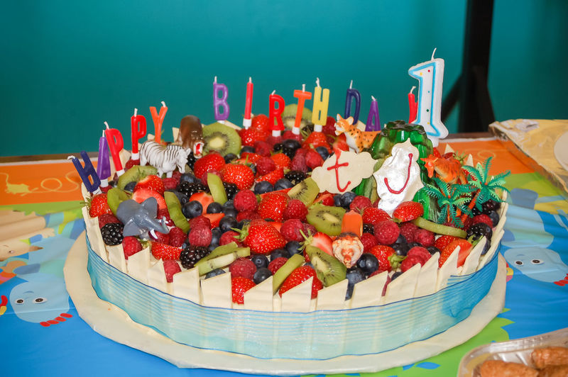 Birthday Cake Cakes Fattening Raspberries Summer Fruits Anniv Anniversary Birthday Candles Blackberries Blueberries Cake Close-up Closeup Delicious Food Food And Drink Freshness Fruit Raspberry Ready-to-eat Strawberries Strawberry Summer Fruit Taste Toy Animals