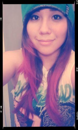 Hair Selfie Girl My Hair Is Getting Really Long Red Hair Beanie