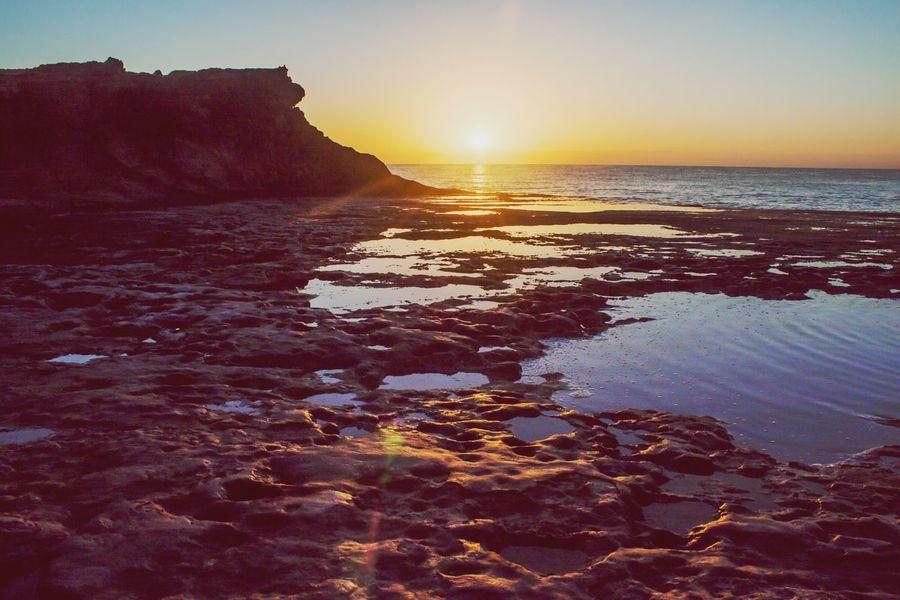 Sunrise Landscape Sea And Sky Beach