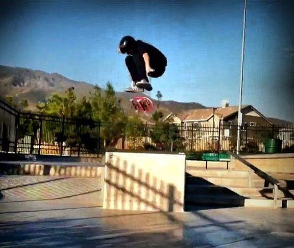 Brokinbonz rider Eli Carter Skateboarding Brands  Sponsor