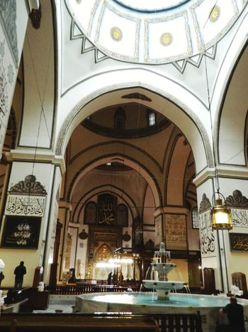 My favorite place in Bursa. Arch Architecture Architectural Column Travel Destinations Indoors  Day