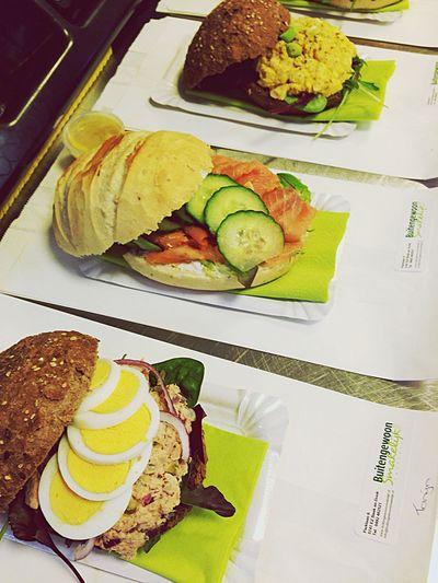 Sandwich time! Gasterij Buitengewoon Smakelijk Bonappetit IPhoneography