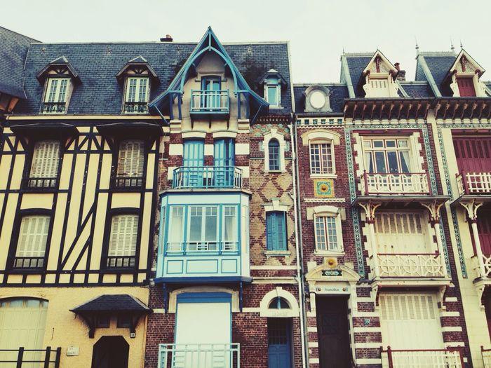 Normandie Normandy Rouen Maison à Colombages Deauville Dieppe Trouville, Deauville Trouville