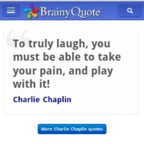 U r rite charlie ! :'( Brainquotes