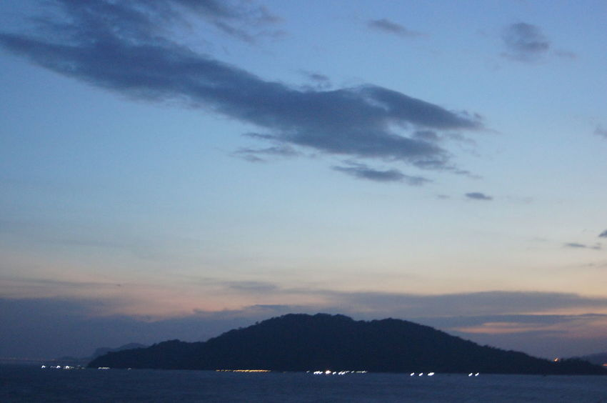 Blue Cloud Dusk Malaysia Mountain Scenics Sky Sunset