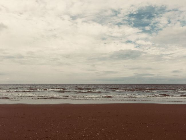 Sky Sea Beach Water Cloud - Sky Land Horizon Over Water Horizon Scenics - Nature Beauty In Nature Tranquility Tranquil Scene Nature Sand No People Day Idyllic Non-urban Scene Outdoors