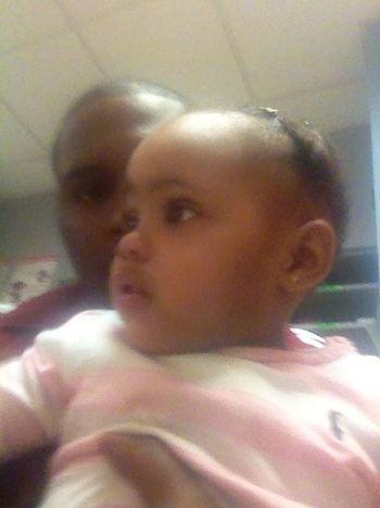 Kiya and her twin!