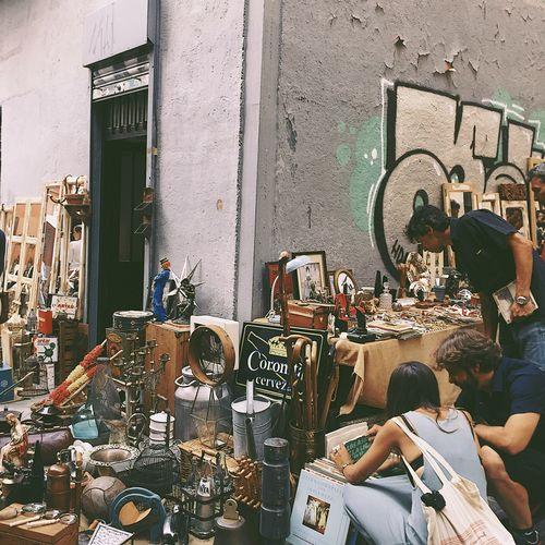Rastro Lostplaces Second Hand Market Old Flea Market Jumble Sale Madrid Spain La Latina  Hipster Alternative Energy Vintage Style