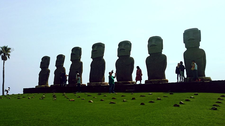 宮崎県 サンメッセ日南 モアイ Miyazaki Moai
