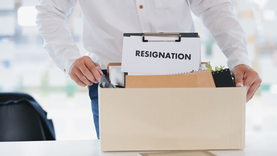 Resign Business