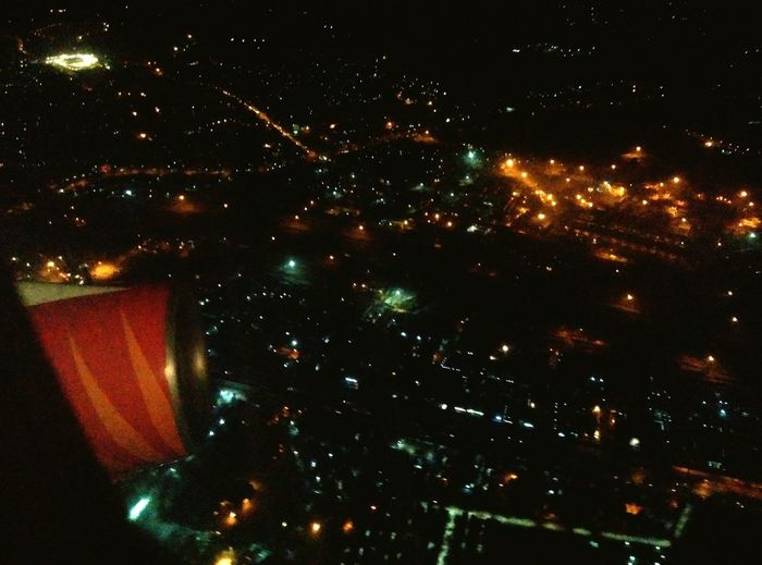 Flying High at Indiragandhi International Airport..