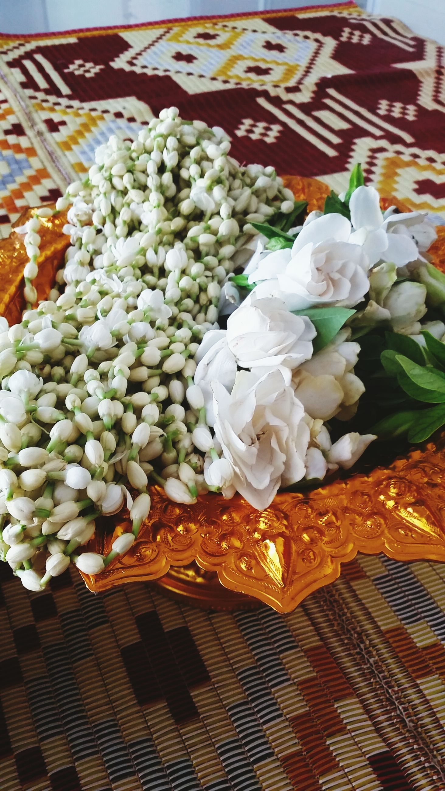 freshness, flower, indoors, food, food and drink, white color, still life, fragility, table, high angle view, petal, close-up, bunch of flowers, no people, abundance, healthy eating, vase, beauty in nature, arrangement, nature