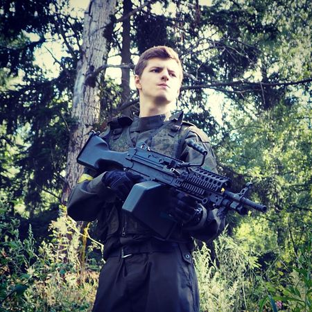 Gun Forest Rambo M249 Airsoft