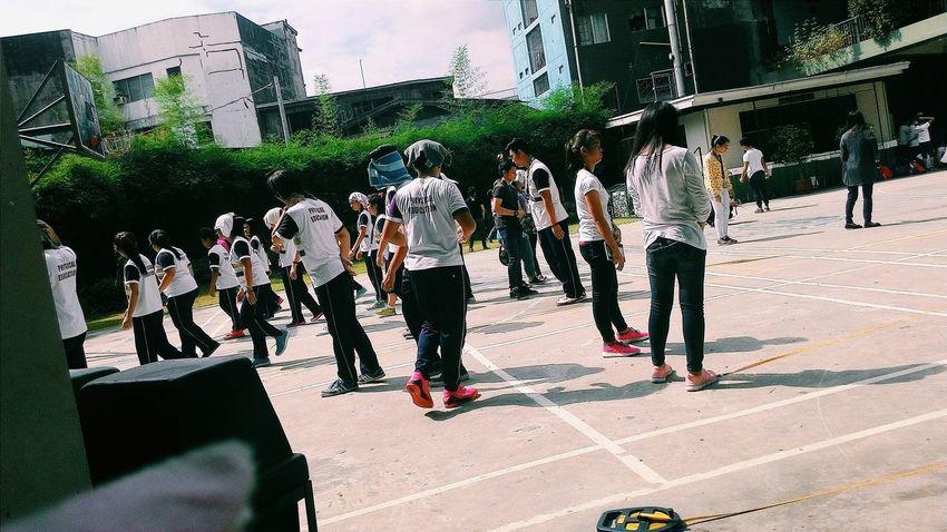 National-U Physical Education class. MRSHANELAONG Com151 NUHARTAP BuhayNationalian