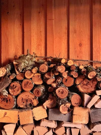 Wood - Material Timber Large Group Of Objects Indoors  Log Wood No People