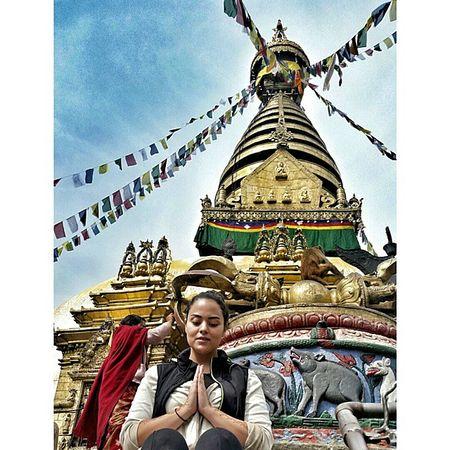 Buddisttemple Buddah Monkeytemple Buddahstump theoldesttemple namaste 🙅🙆🙇👌