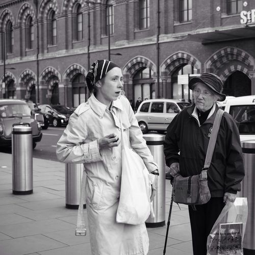 Catching A Train Kings Cross Black And White Stree Photography