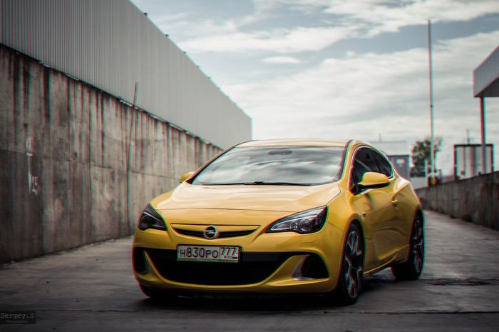 Sergey_s Opel Astra OPC Autophotography