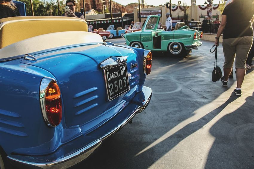 Blue Disneyland Photography Cars Faded Teal Outdoors Texture Sky Sunlight