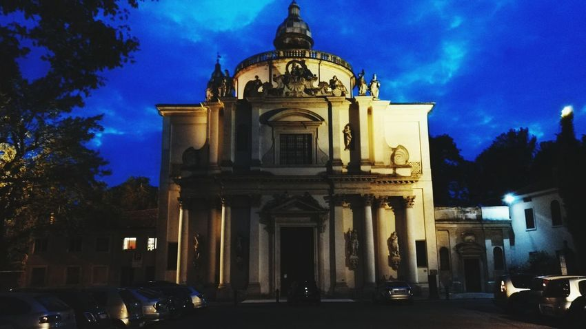 Sky Taking Photos Churches Vicenza Scary Amazing