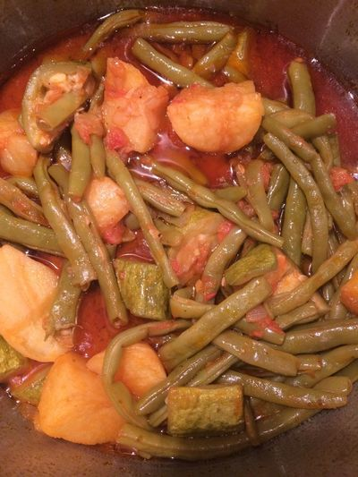 Greek vegetarian food Greek Vegetarian Close-up Food Food And Drink Freshness Greek Cuisine Greek Food Healthy Eating No People Potatoes Ready-to-eat String Beans Tomato Zuchinni