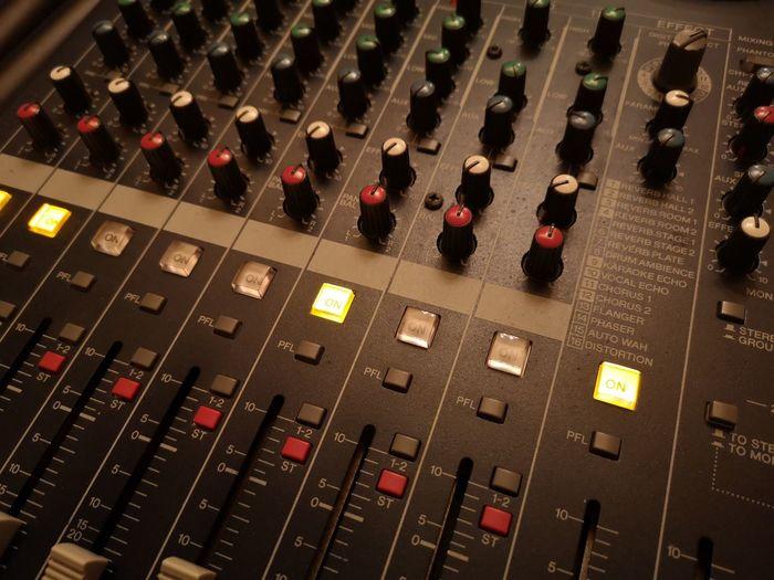 Mixer Radio Station Control Panel Mixing Recording Studio Technology Illuminated Sound Mixer Music Sound Recording Equipment Arts Culture And Entertainment Audio Electronics Audio Equipment Amplifier