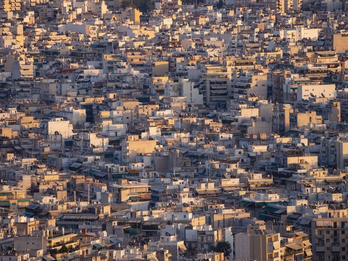 Overdevelopment in athens