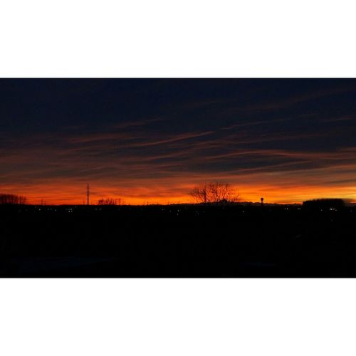 """""""L'ultimo tramonto a Lacchiarella"""" Sunset Tramonto Last 5 Quintopiano Fifthfloor Fifthfloorview Lacchiarella"""