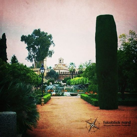 Garden of Alcazar, Córdoba, Spain