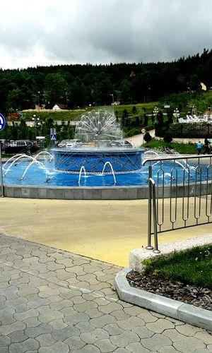Hotel Gołębiewski Karpacz Poland Fountain Summer Water