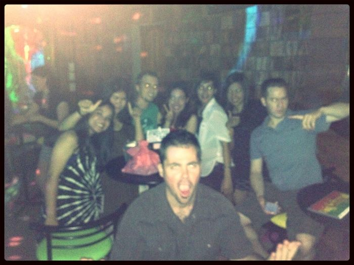Hanging Out with friends @Changbar.. miss u all guys ♥ Nightlife Bar Taking Photos